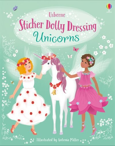 Sticker Dolly Dressing: Unicorns by Fiona Watt