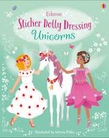 Sticker Dolly Dressing: Unicorns