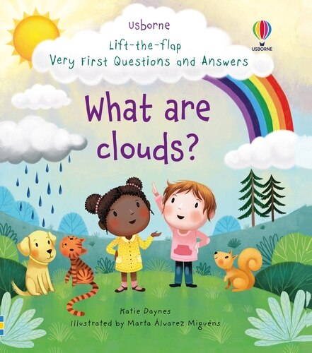 Lift-the-flap Very First Questions And Answers: What Are Clouds? by Katie Daynes