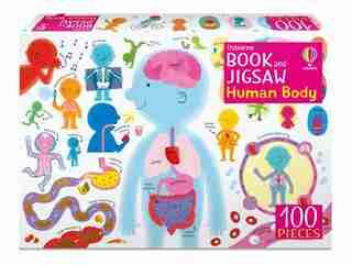 Usborne Book And Jigsaw: The Human Body Jigsaw by Tbc Tbc