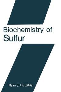 Biochemistry of Sulfur