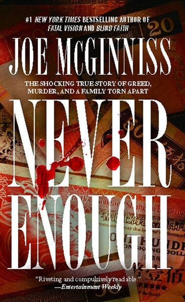 Never Enough by Joe Mcginniss