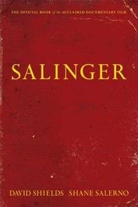 Book Salinger by David Shields