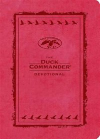 Book The Duck Commander Devotional Pink LeatherTouch by Al Robertson