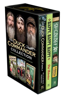 Book Duck Commander Collection: Duck Commander Family; Happy, Happy, Happy; and Si-Cology 1 by Willie Robertson