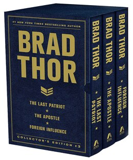 Book Brad Thor Collectors' Edition #3: The Last Patriot, The Apostle, and Foreign Influence by Brad Thor