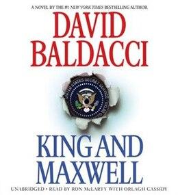 Book King And Maxwell by David Baldacci