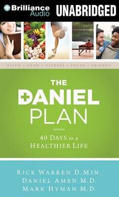 Book The Daniel Plan: 40 Days to a Healthier Life by Rick Warren