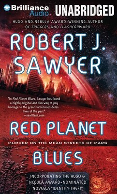 Book Red Planet Blues by Robert J. Sawyer