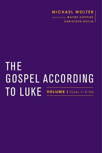 The Gospel According to Luke: Volume I (luke 1?9:50) by Michael Wolter