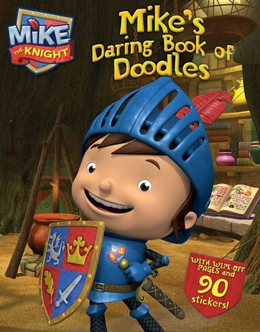Mike's Daring Book of Doodles by HIT Entertainment