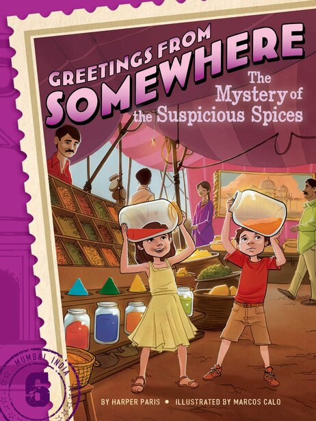 The Mystery of the Suspicious Spices by Harper Paris