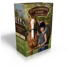 Book Canterwood Crest Stable of Stories: Take the Reins; Behind the Bit; Chasing Blue; Triple Fault by Jessica Burkhart