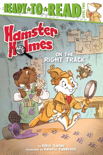 Hamster Holmes, On the Right Track by Albin Sadar