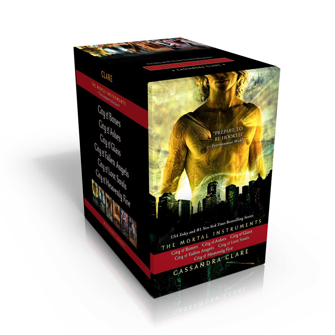 Book The Mortal Instruments, the Complete Collection: City of Bones; City of Ashes; City of Glass; City… by Cassandra Clare