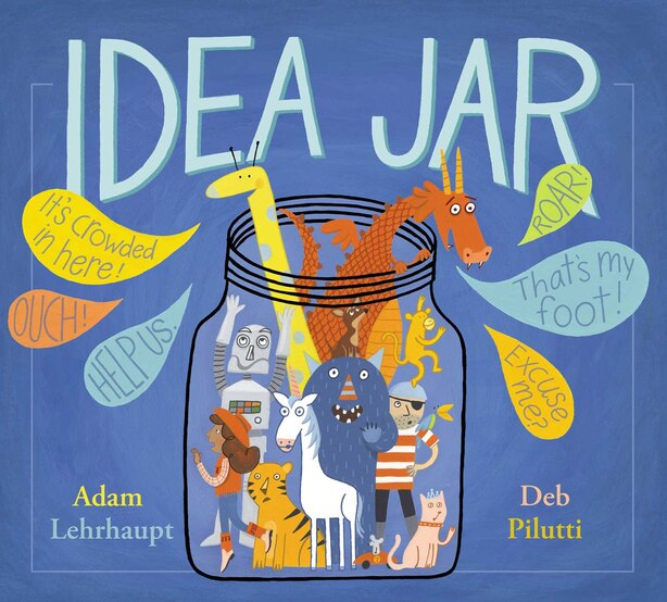 Idea Jar by Adam Lehrhaupt