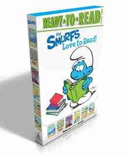The Smurfs Love to Read!: Off to School!; Smurf Cake; Scaredy Smurf Makes a Friend; Why Do You Cry, Baby Smurf?; The Smurf Ch by Peyo