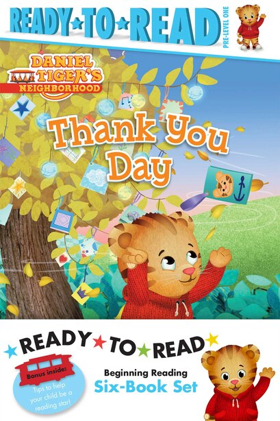 Daniel Tiger Ready-to-Read Value Pack: Thank You Day; Friends Help Each Other; Daniel Plays Ball; Daniel Goes Out for Dinner; Daniel Feels by Various