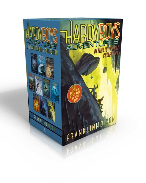 Hardy Boys Adventures Ultimate Thrills Collection: Secret of the Red Arrow; Mystery of the Phantom Heist; The Vanishing Game; Into Thin Air; Peril at by Franklin W. Dixon