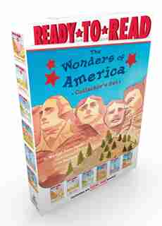 The Wonders of America Collector's Set: The Grand Canyon; Niagara Falls; The Rocky Mountains; Mount Rushmore; The Statue of Liberty; Yellow by Marion  Dane Bauer