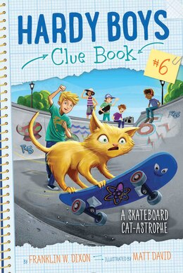 Book A Skateboard Cat-astrophe by Franklin  W. Dixon