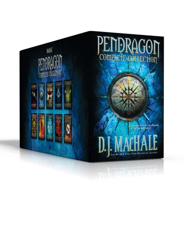 Pendragon Complete Collection: The Merchant of Death; The Lost City of Faar; The Never War; The Reality Bug; Black Water; The Rive by D.J. MacHale