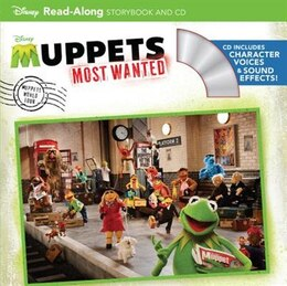 Book Muppets Most Wanted Read-along Storybook And Cd by Calliope Glass