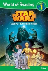 World Of Reading Star Wars Escape From Darth Vader: Level 1 by Michael Siglain
