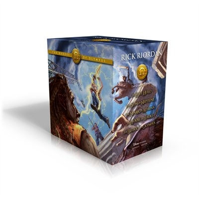 The Heroes Of Olympus Hardcover Boxed Set by Rick Riordan