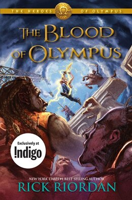 Book The Heroes Of Olympus, Book Five The Blood Of Olympus: Indigo Exclusive Edition by Rick Riordan