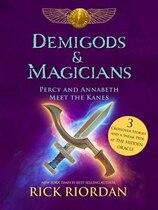Book Demigods & Magicians: Percy And Annabeth Meet The Kanes by Rick Riordan