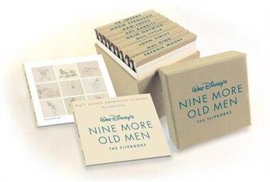 Walt Disney Animation Studios The Archive Series Walt Disney's Nine More  Old Men (nine More Old Men: The Flipbooks): The Flipbooks