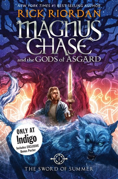 Magnus Chase And The Gods Of Asgard, Book 1 The Sword Of Summer (indigo Exclusive Edition Customer Specific) by Rick Riordan