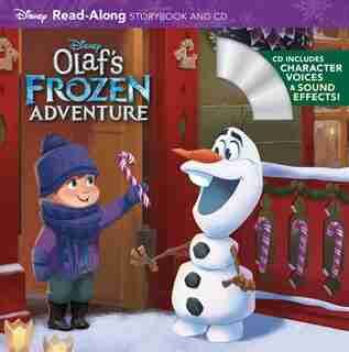 Olaf's Frozen Adventure Read-along Storybook And Cd by Disney Storybook Art Team