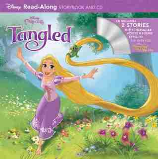 Tangled And Tangled Ever After Read-along Storybook And Cd Bindup by Disney Books