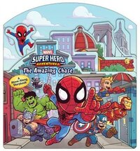 Super Hero Adventures: The Amazing Chase: A Move-along Storybook