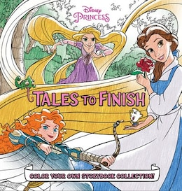 Book Disney Princess Storybook Collection: Tales To Finish: Color Your Own Storybook Collection! by Disney Books