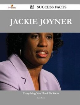 Book Jackie Joyner 56 Success Facts - Everything you need to know about Jackie Joyner by Luis Rose