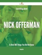 Everything About Nick Offerman Is Here - 188 Things You Did Not Know