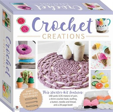 Crochet Creations Small Kit by Craftmaker