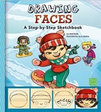 Drawing Faces: A Step-by-Step Sketchpad, Book By Mari