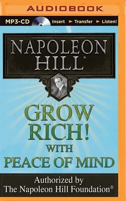 Book Grow Rich! With Peace of Mind by Napoleon Hill
