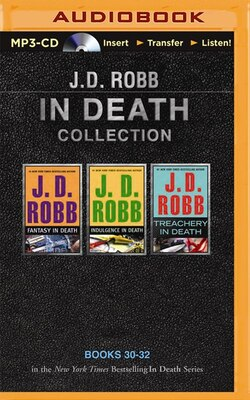 Book J. D. Robb In Death Collection 7: Fantasy in Death, Indulgence in Death, Treachery in Death by J. D. Robb