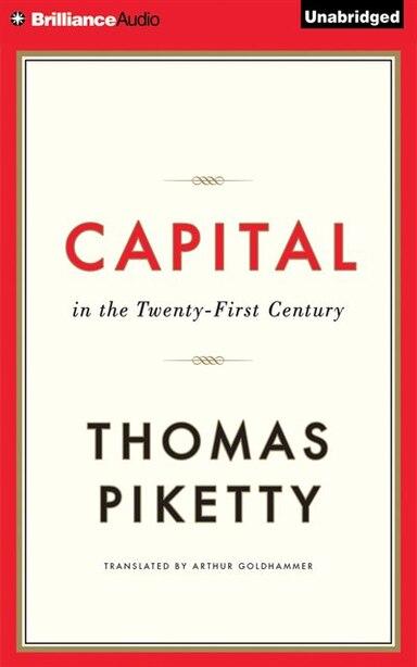 Capital In The Twenty-first Century de Thomas PIKETTY