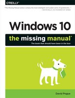 Book Windows 10: The Missing Manual by David Pogue