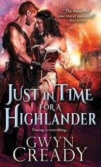 Book Just in Time for a Highlander by Gwyn Cready