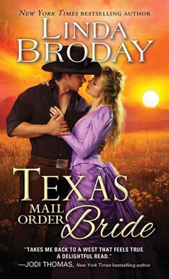 Book Texas Mail Order Bride by Linda Broday