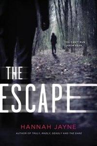 Book The Escape by Hannah Jayne
