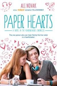 Paper Hearts by Ali Novak