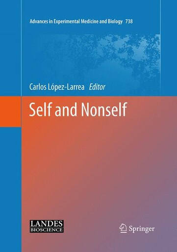 Self And Nonself by Carlos López-Larrea
